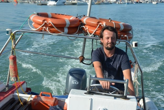Me and My Boat – Mark Young of Sally Water Taxis