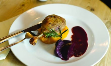 Recipe:  Brownrigg Farm Confit Duck Leg from The New Inn