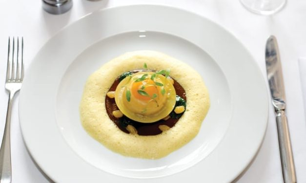 Smoked Pollock and Egg Yolk Ravioli