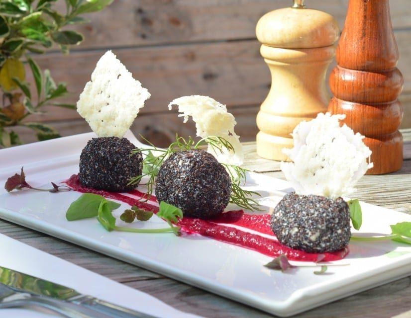 Mackerel Bonbons at The Shed