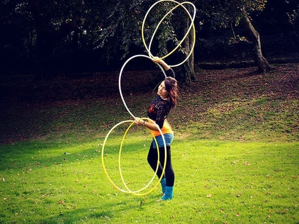 WIN Hula Hoop Lessons with Gina Steliana