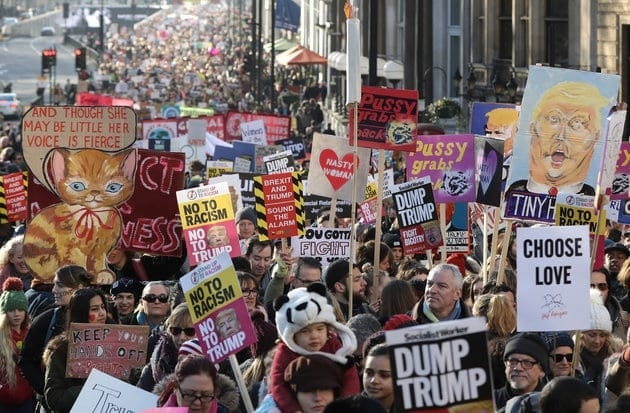 A week on from the Women's Marches