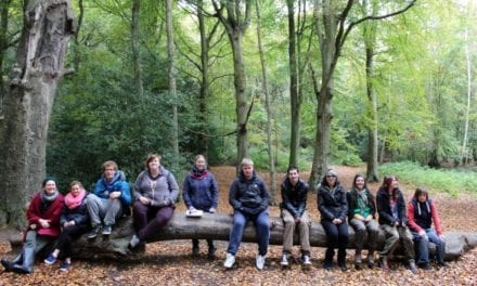 Young conservation volunteers celebrated in High Sheriff's Awards for Children and Young People