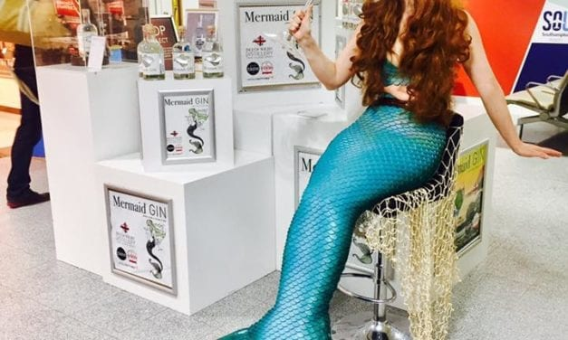 Mermaid Gin Now at Southampton Airport