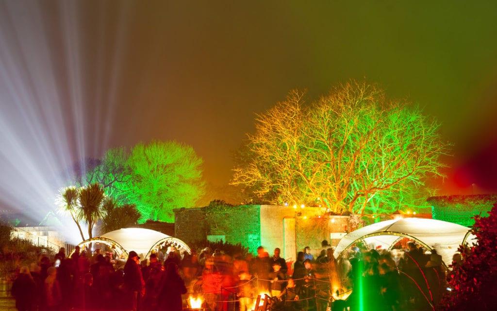 The Christmas Garden returns to Sandown Battery Gardens